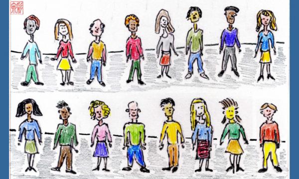 Ethnische Diversität im Cast