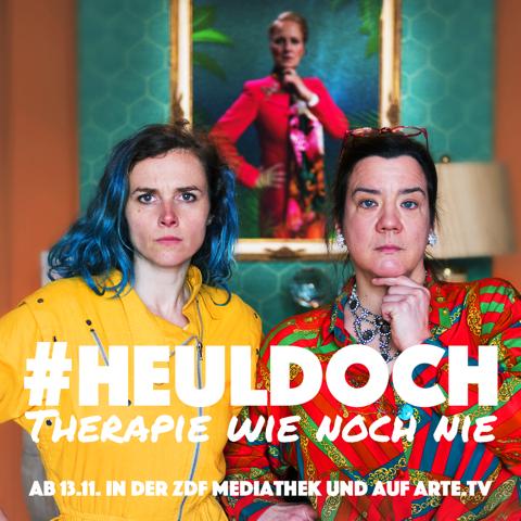 Szenenfoto, Karin Hanczewski, Bärbel Schwarz, Belinde Ruth Stieve